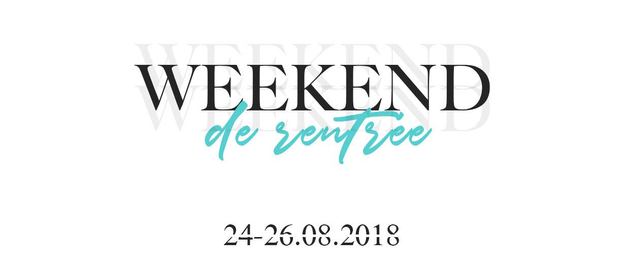 [ANNULE] Weekend de Rentrée 2018