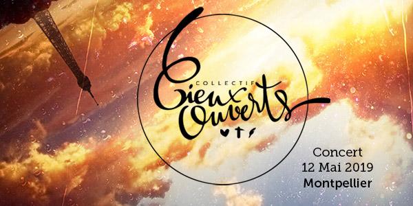 concert collectif cieux ouvert tournée montpellier