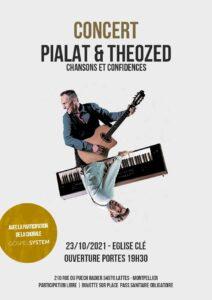 Concert le 23/10 à Montpellier Daniel et Theozed