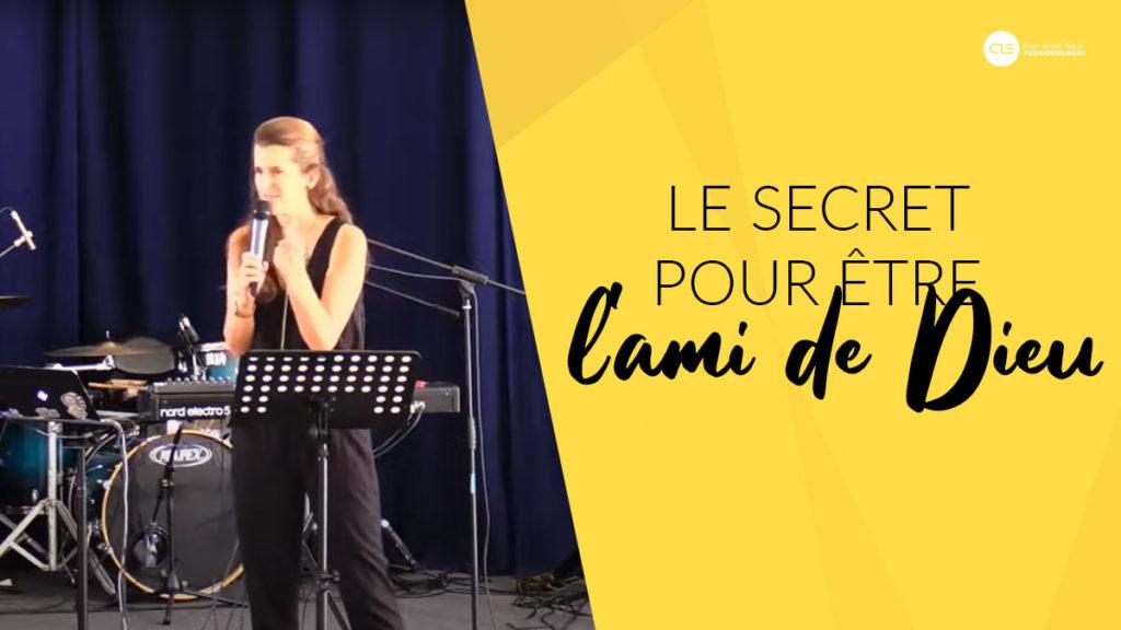 Cover predication Anne Mourot à l'église clé
